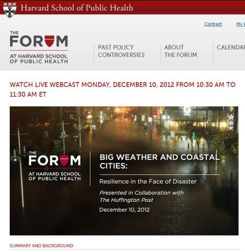 HSPH-20121210-Forum