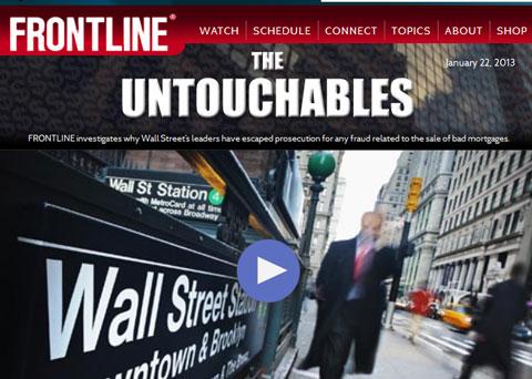 Ces banques au-dessus des lois Frontline-untouchables