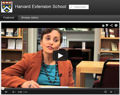 Harvard-Extension-Youtube
