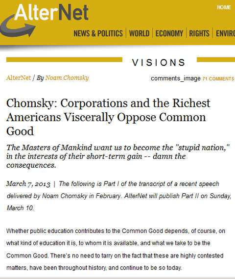 Chomsky-Corporations