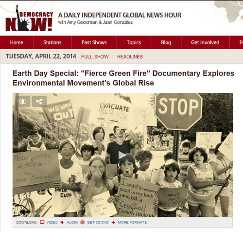 """Earth Day Special: """"Fierce Green Fire"""" Documentary Explores"""