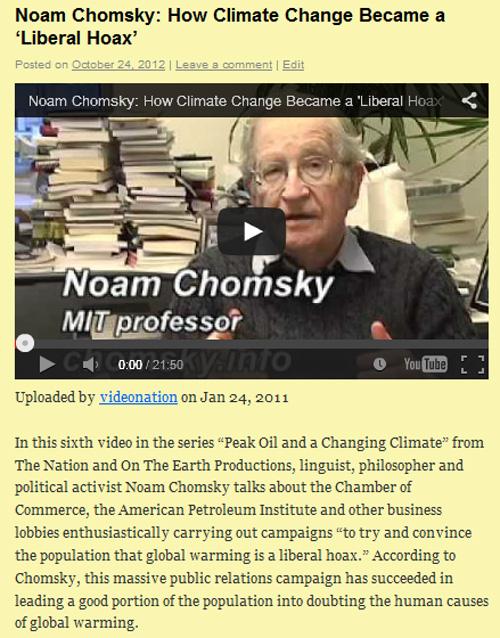 Chomsky-hoax