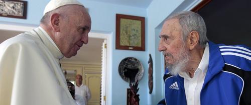 Pope-Francis-Fidel-Castro-s