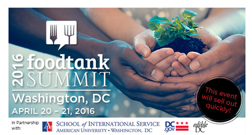 logo for Food Tank Summit – Washington, D.C.