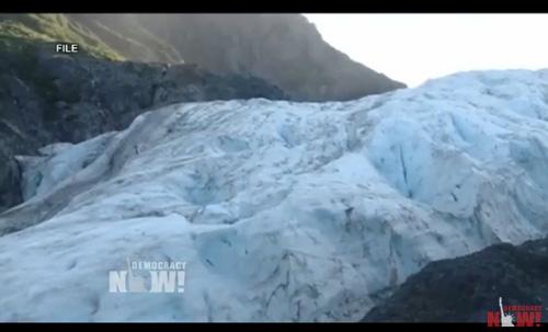Ice-glacier