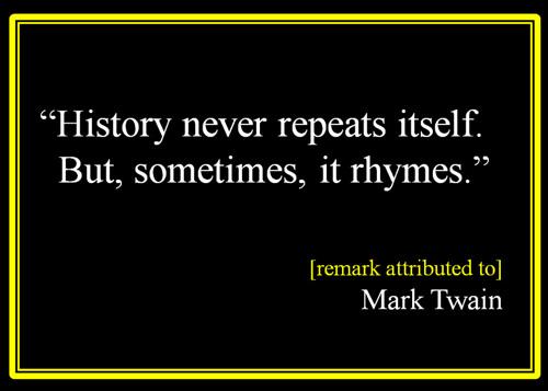 History-never-repeats