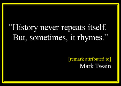 History-never-repeats