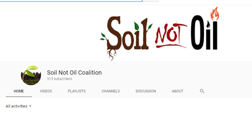 Soil-not-oil