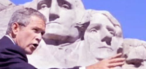 Bush-Rushmore