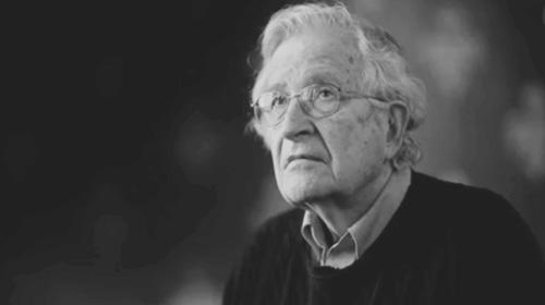 Chomsky-storm