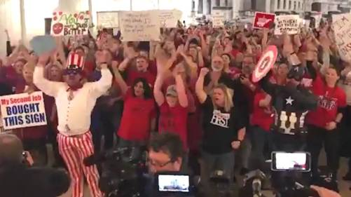 h10 wv teachers end strike