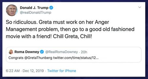 Trump-greta