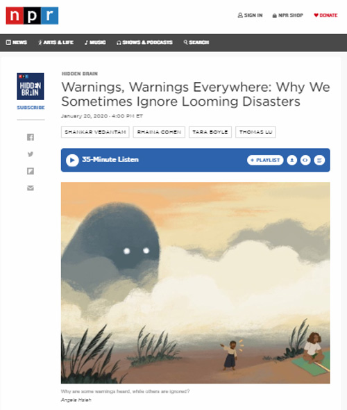 NPR-warnings