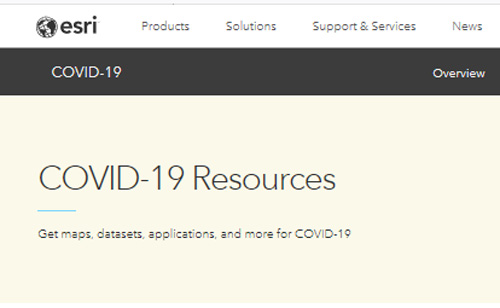 COVID-19-ESRI-Resources