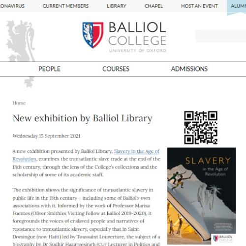 Balliol-Slavery-home+QR